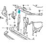 zárhíd merevítő függőleges összekötő Ignis gyári  58240-86G00