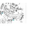 ködlámpa takaró SX4 betét karika 71753-55KA0-5PK