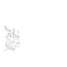 díszrács Swift 2008-2010, felső, 71741-72K10-5PK, gyári