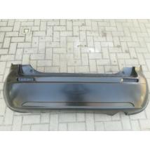 lökhárító hátsó SX4 71811-79J00-5PK utgy (tolatóradar furatok nélkül) fekete