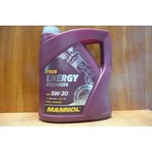olaj motorba 5W30 Mannol Energy Premium, 4 literes,  olaj, motorolaj