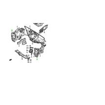 fényszóró keret ,lámpa tartó lemez bal Maruti 800, 58160-84300