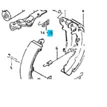 rugó fékpofához Maruti  (bal) 53716-84010