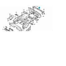 lökhárító tartó vas SX4 hátsó 65560-79J00, gyári