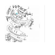ködlámpa takaró SX4 bal 71752-55L00-5PK