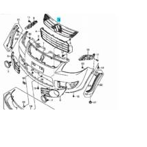 díszrács SX4 felső 71741-79J00-0CB