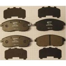fékbetét SX4 garnitúra / Sedan 4 ajtós lépcsős, 55810-80J51,  Olasz