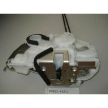 központi zár (motor+szerkezet) Swift 2005- 5 ajtós bal első  62J10   62J13   gyári  (8 lábú)