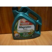 olaj motorba 5W40 Castrol Magnatec Diesel 4 literes  olaj, motorolaj