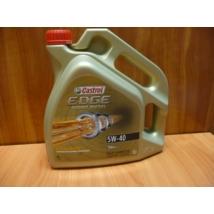 olaj motorba 5W40 Castrol Edge Turbo Diesel 4 literes,   olaj, motorolaj