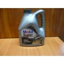 olaj motorba 10W40 Mobil Super 2000 X1 4 literes,  olaj, motorolaj