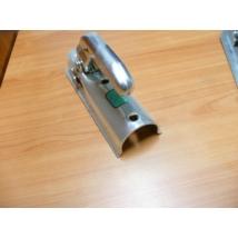 vonófej, kapcsolófej utánfutóhoz 60 mm íves, kerek
