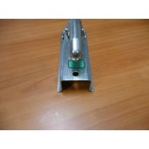 vonófej, kapcsolófej utánfutóhoz 60 mm szögletes