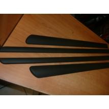 ajtódíszléc, ajtó díszléc, díszcsík szett, ajtóra, ajtóvédő, fekete, öntapadós, SX4 S Cross, utgy.