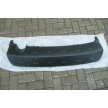 hátsó lökhárító spoiler, alsó borítás, műanyag, SX4