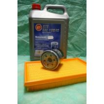 szervíz csomag szett olajcsere készlet Ignis, Wagon-R (Alco 10W40  4l. olaj + levegőszűrő + olajszűrő)