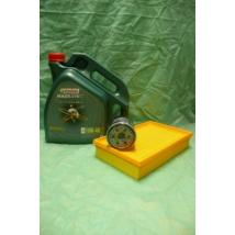szervíz csomag szett olajcsere készlet Wagon-R  (Castrol 10W40 4l. olaj + levegőszűrő + olajszűrő)