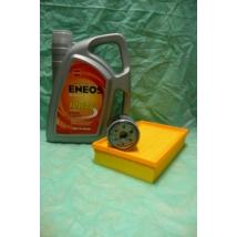 szervíz csomag szett olajcsere készlet Wagon-R  (Eneos 10W40 4l. olaj + levegőszűrő + olajszűrő)