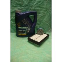 szervíz csomag szett olajcsere készlet Alto 1.1 2002-2006  (Mannol 10W40 4l. olaj + levegőszűrő + olajszűrő)