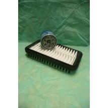 szervíz csomag szett olajcsere készlet Alto 1.1 2002-2006  (levegőszűrő + olajszűrő)