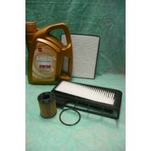 szervíz csomag szett olajcsere készlet Ignis, Wagon-R , Eneos 5W30 4l. + olajszűrő + levegő + pollen, (1.3 dieselekhez!!!)