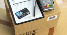 Fizetés bankkártyával a futárnál