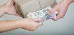 Fizetés készpénzzel a futárnak