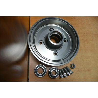 fékdob Swift  -2003  , kerékaggyal, csapággyal, tőcsavarral (180 mm) (csapágy:Távol-Kelet)