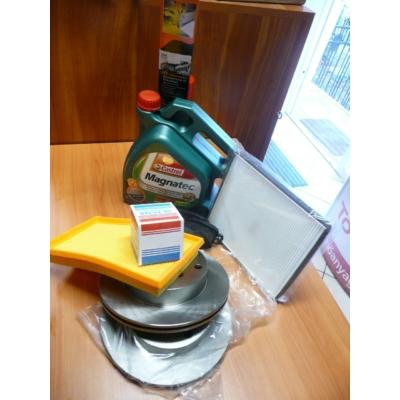 szervíz csomag szett olajcsere készlet Ignis, Wagon-R  (olajcsere, féktárcsa, fékbetét, szűrők)