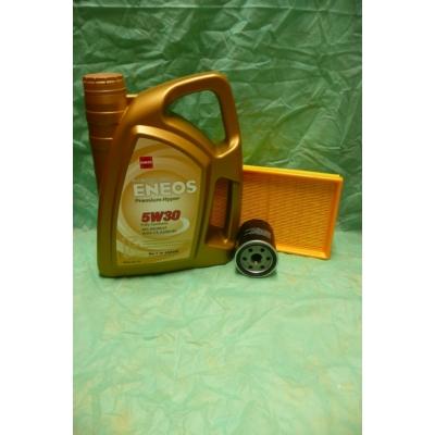 szervíz csomag szett olajcsere készlet Swift 2005-2010 1.3-1.5 benzin, Eneos 5W30 4l.olaj+szűrők